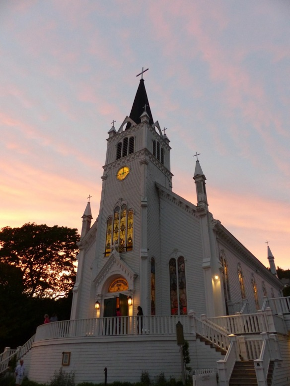 Clark Bloswick's stunning photograph of St. Anne's Church at sunset.