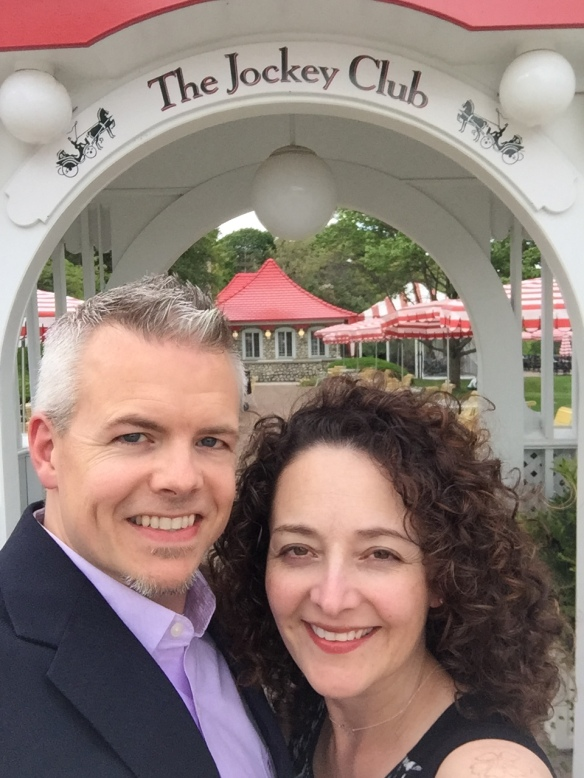 Blog readers (and friends from Georgia) Dr. Karen Castleberry and her husband Raymond, were on Mackinac a few days recently and shared the next photos.
