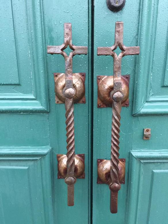 The doors to St. Anne's.