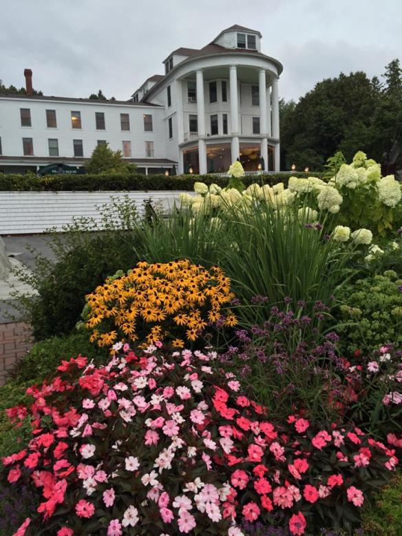 The Island House's magnificent flower gardens