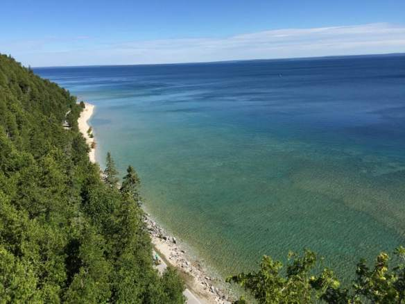 . . . Lake Huron . . .