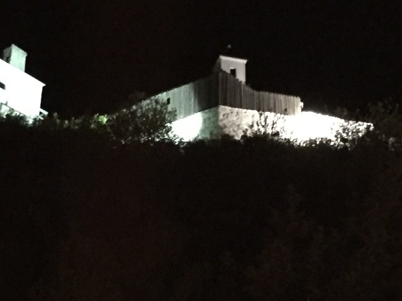 Fort Mackinac in the evening. Standing below this historic fort and listerning as a fort interpreter plays Taps from the ramparts gives me chills every single time I hear it.