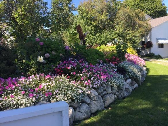 The gardens at Chambers corner.