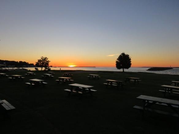 Sunrise from Windermere Point. (Photo: Clark Bloswick)